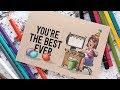 Co-Worker Birthday Card - Art Impressions Week Day 2