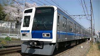 西武6000系6106F10M急行武蔵小杉行き 自由が丘-田園調布通過