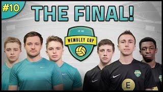 THE FINAL! SPENCER FC VS SIDEMEN UTD! - Wembley Cup #10