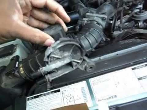 Replace Evap Purge Valve Ford Explorer V6 4 0 Youtube