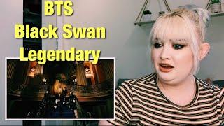 BTS (방탄소년단) 'Black Swan' Official MV REACTION l GET KOOKED