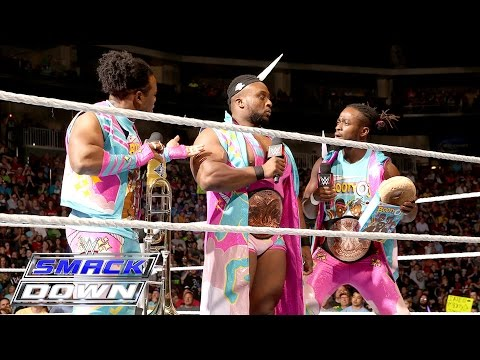 The Vaudevillains Interrupt The New Day: SmackDown, May 12, 2016