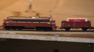 EPISODE 9:* HO Model  Railroads new/old systems: testing - Model Locomotives & Trains, year 2017!