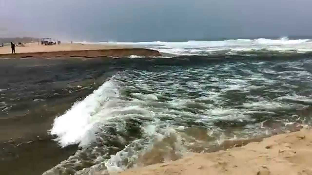 where rivers meet the ocean
