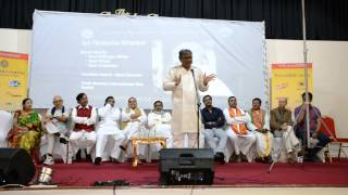 Sh. Tanikella Bharan at UKTA 4th World Telugu Literature Conference(1) in London