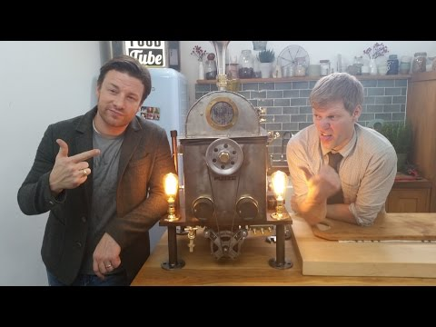 Xmas Spinner Turkey Cooking Machine (With Jamie Oliver)