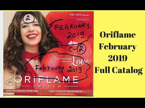 Oriflame February 2019 Full Catalog || All Pages HD