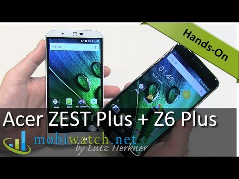 Acer Liquid ZEST Plus + Z6 Plus With Monster Battery: Hands-on Review – Test