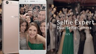 oppo f3 plus with dual selfie front camera