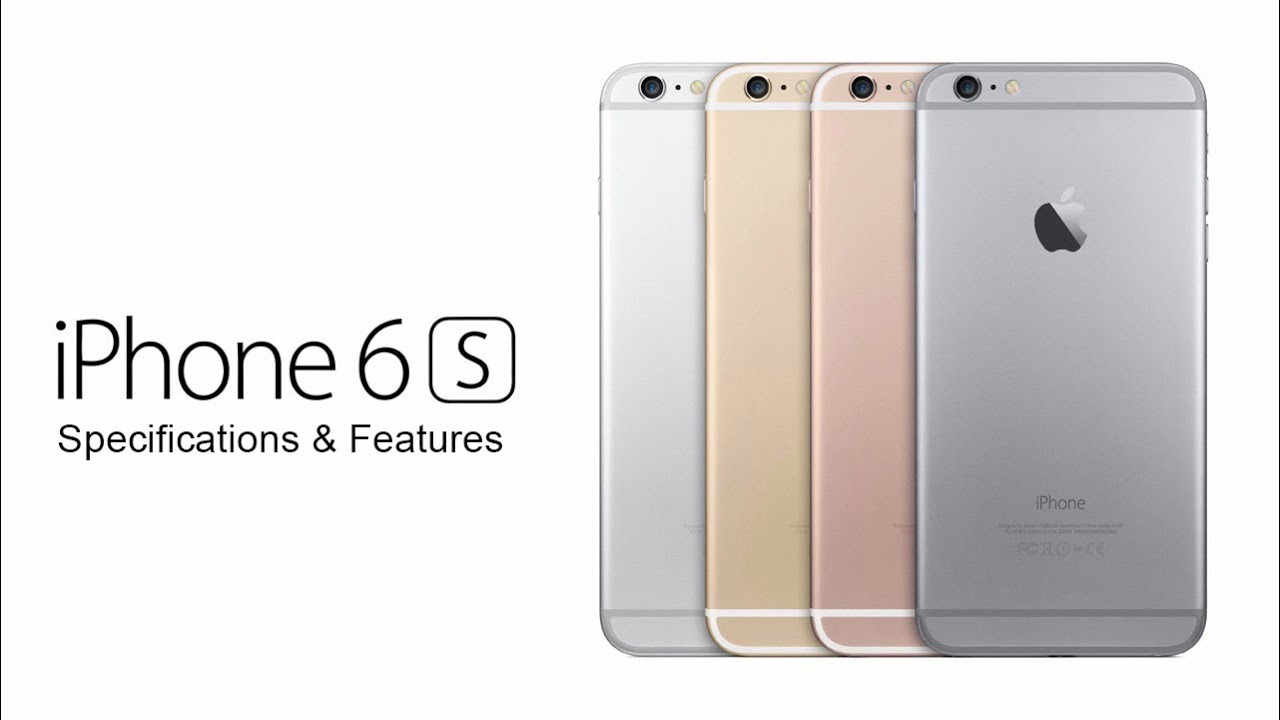 iphone 6s features iphone 6s specs and features 1086