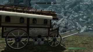 Скачать Skyrim Gypsy Eyes Caravan Your Horse Saving And Loading