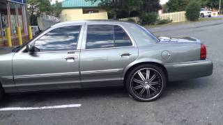 "RimTyme rolls out a Grand Marquis on 22"" Phino wheels! Thumbnail"
