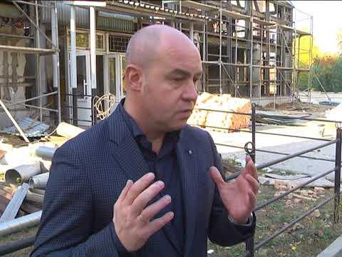 Телеканал ІНТБ: У Тернополі ремонтують ДЮСШ на вул. Братів Бойчуків 4 а