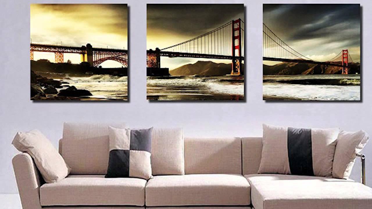 Картина из трех частей: Бруклинский мост