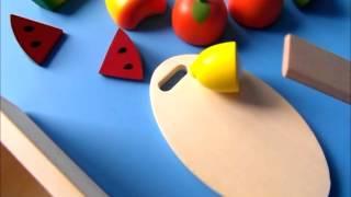 Owoce do krojenia dla dzieci  BigJigs - videorecenzja