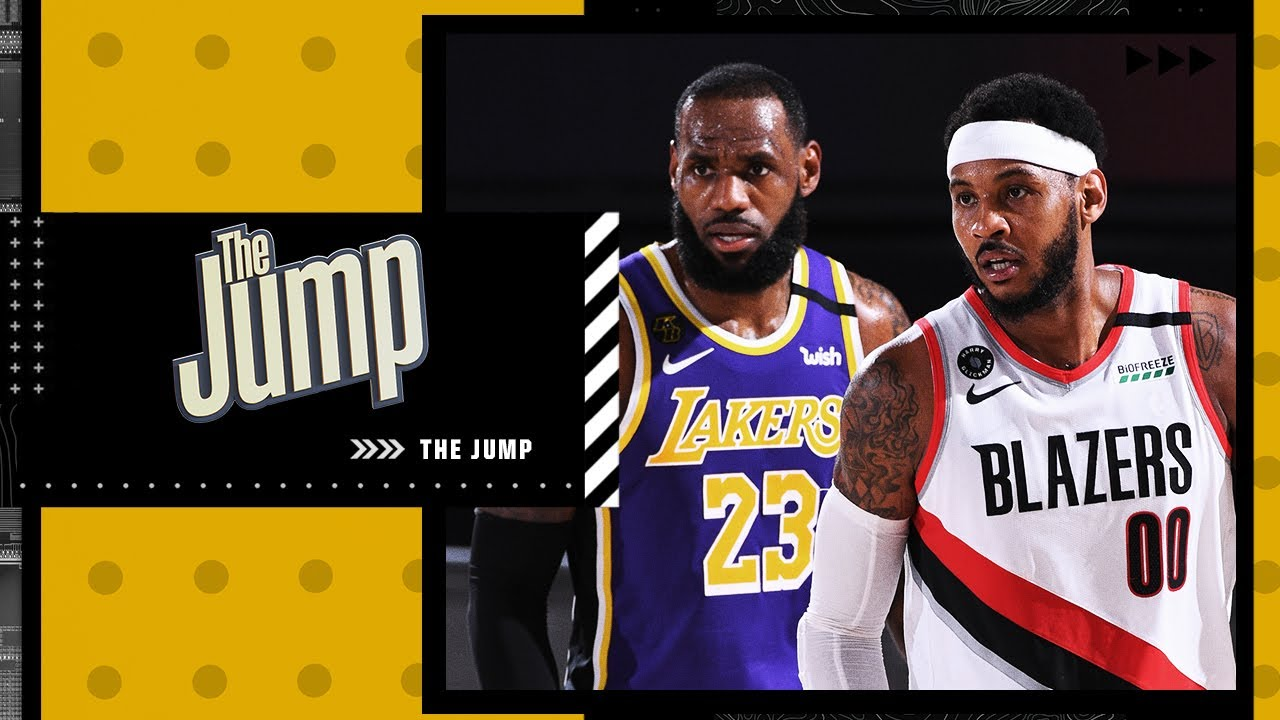 Download Describing the role Carmelo Anthony will play with LeBron and the Lakers   The Jump