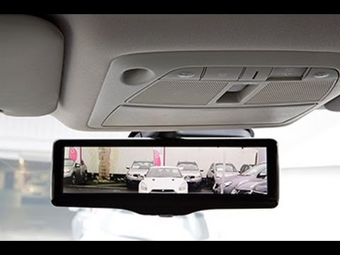 Nissan Rogue 2014 Nissan's Smart Rearview Mirror - YouTube