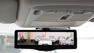Nissan's Smart Rearview Mirror