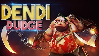Still Best Pudge in Dota 2 - Dendi EPIC Pudge Gameplay Compilation