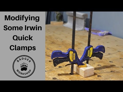 Modifying Irwin Quick Clamps