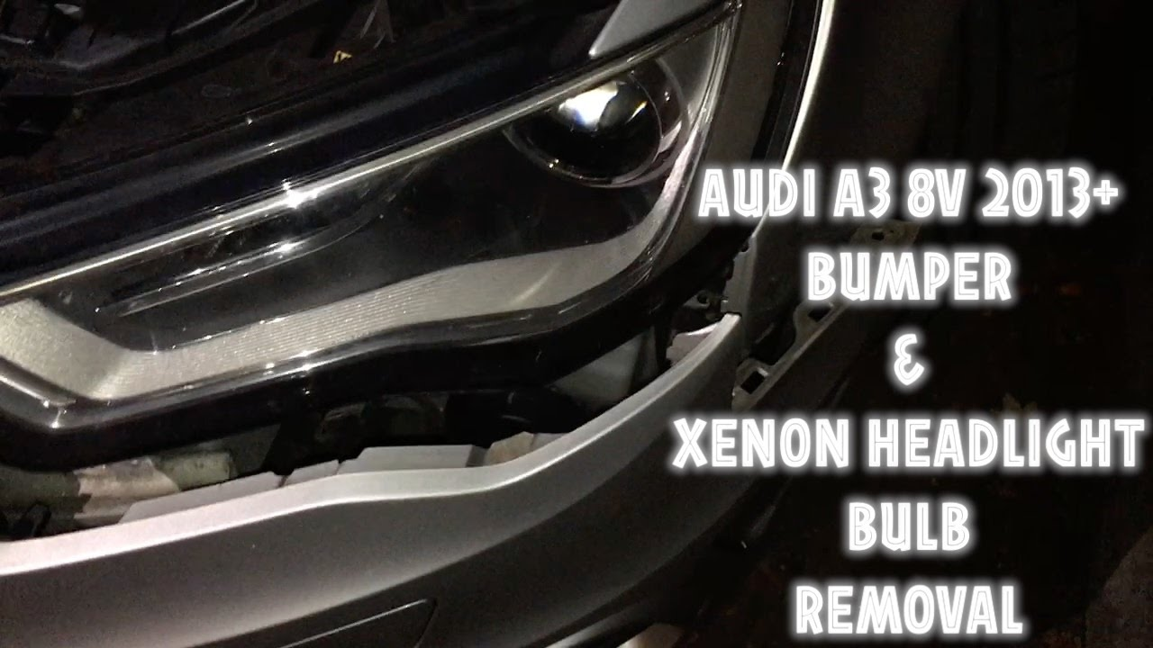 AUDI A3 2013 8V - FRONT BUMPER REMOVE AND XENON HEADLIGHT BULB ...  Audi A Xenon Headlights on 2015 bmw 6 series headlights, 2015 nissan gt-r headlights, 2015 dodge journey headlights, 2015 honda cr-v headlights, 2015 jeep compass headlights, 2015 mazda 6 headlights, 2015 mazda cx-5 headlights, 2015 nissan juke headlights, 2015 chevrolet camaro headlights, 2015 nissan frontier headlights, 2015 mazda 3 headlights, 2015 audi s3 headlights, 2015 audi r8 headlights, 2015 chevrolet colorado headlights, 2015 acura rlx headlights, 2015 bmw x6 headlights, 2015 dodge dart headlights, 2015 audi s6 headlights, 2015 ford escape headlights, 2015 buick regal headlights,
