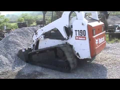 2008 Bobcat T190 Wide Track Rubber Track Skid Steer Loader For Sale Mark  Supply Co