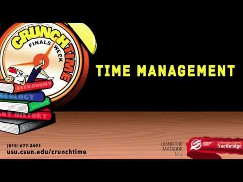 Crunch Time: Time Management