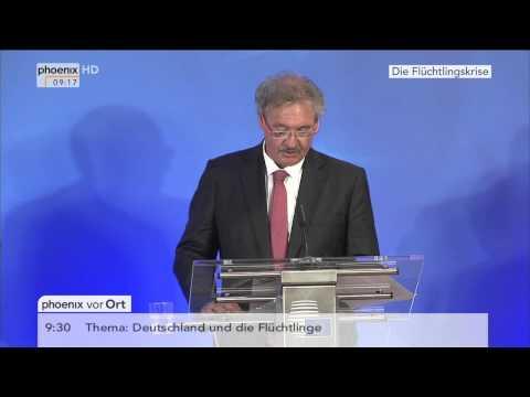 Flüchtlingskrise: Jean Asselborn zum Sondertreffen der EU-Innenminister am 14.09.2015