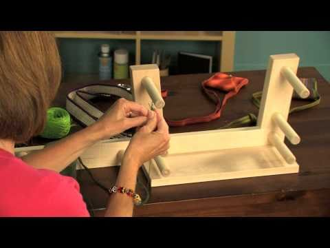 How to Warp and Weave on the Schacht Inkle Loom