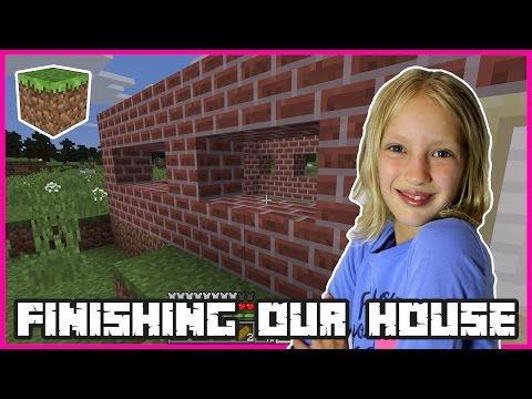 Finishing Our Clay Brick House | Minecraft