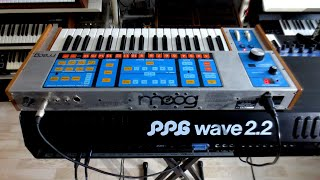 "Moog Source + PPG wave 2.2 Synthesizer ""60 Parallel North""  Baltic Sea"