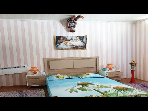 Antalya ters ev. Burda herşey ters, Çınar Efe'nin muhteşem güçleri | Eğlenceli çocuk videoları
