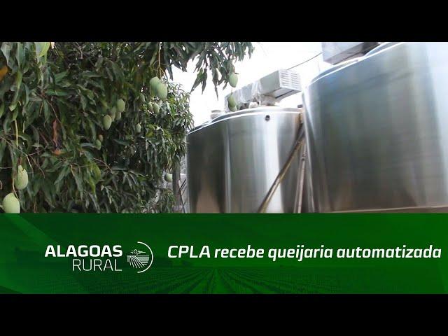 CPLA recebe queijaria automatizada para Unidade de Beneficiamento de Leite de Batalha