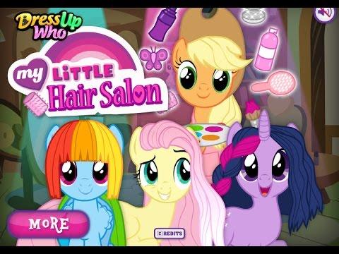 ПРИЧЕСКИ МАЙ ЛИТЛ ПОНИ В ПАРИКМАХЕРСКОЙ/МУЛЬТФИЛЬМЫ ВИДЕО ДЛЯ ДЕТЕЙ/My Little Pony Hair Salon