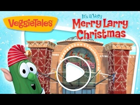 VeggieTales Games Its A Very Merry Larry Christmas App Review Demo