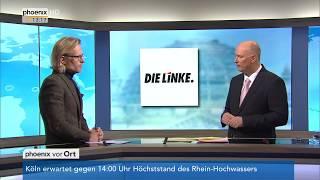 Prof. Volker Kronenberg zur Parteivorstandssitzung der Linken am 08.01.18