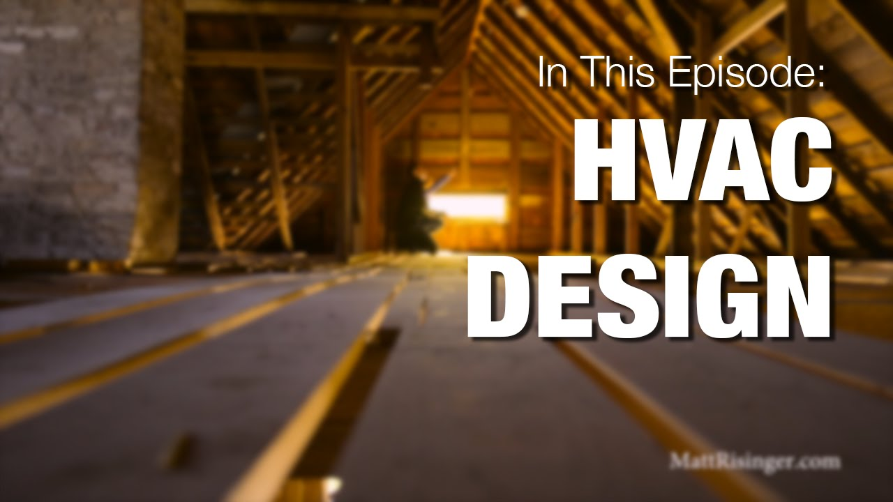 Hvac Design Youtube