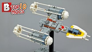 Y-WING so CUTE you will want to hug it | TOP 10 MOCs of the Week
