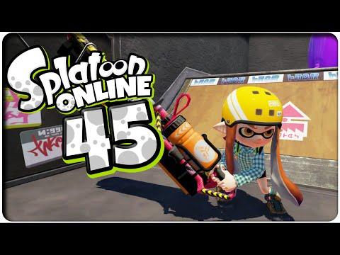 Let's Play SPLATOON ONLINE Part 45: Endlich ein Roller der zu mir passt? [Karbonroller Deko]