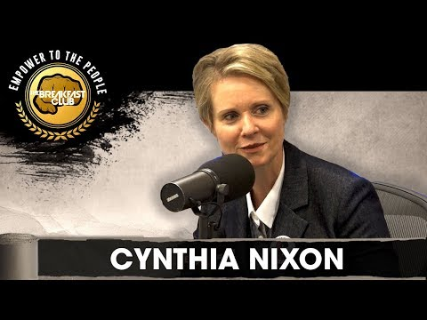 Former Sex And The City Star Cynthia Nixon On Her Run For Governor, Bail Reform, Legalization  More