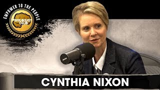 Former Sex And The City Star Cynthia Nixon On Her Run For Governor, Bail Reform, Legalization + More