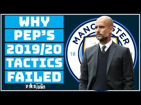 What's Gone Wrong Tactically At Manchester City? | Pep Guardiola 2019/20 |