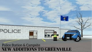 Roblox l New Greenville WI Police Station & Campsite