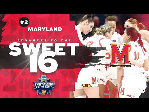 Maryland vs. Alabama - Second Round Women's NCAA Tournament Extended Highlights