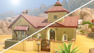 ABANDONED SPANISH COLONIAL // The Sims 4: Fixer Upper - Home Renovation