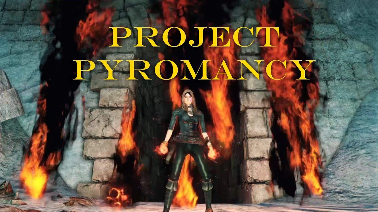Dark Souls Pyromancy - Exploring Mars