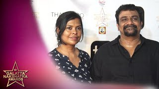 Who is Vikram - Vedha Among Pushkar - Gayathri? Red Carpet | Galatta Nakshatra Awards