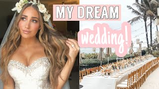 HOW I PLANNED MY DREAM WEDDING//BUDGET HACKS// HOW WE SAVED MONEY!