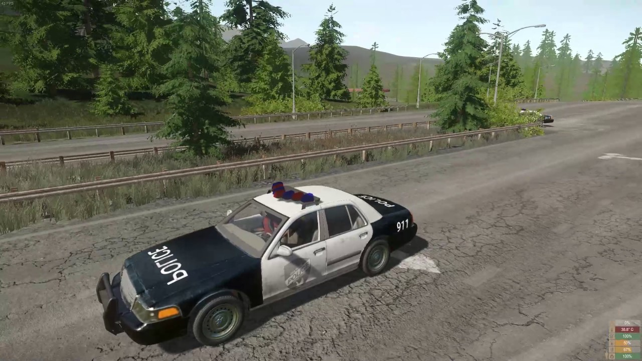 Miscreated - Police car chase ends well - YouTube