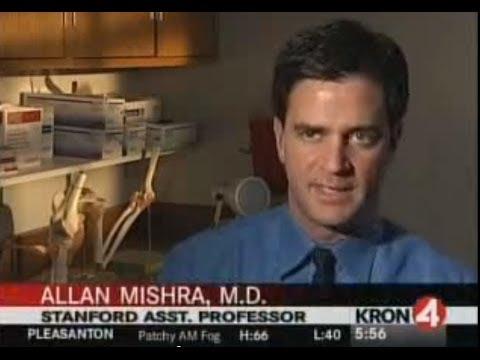 KRON-4 Talks to Allan Mishra, MD, About Platelet-Rich Plasma Treatment